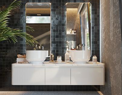 Savage bathroom