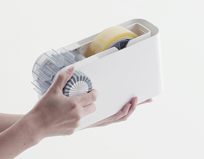 SCOTCH TAPE DISPENSER /Stationary, Industrial product
