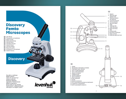 Discovery Femto microscopes - guide design and schemes