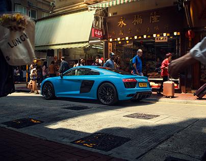 Audi R8 HK