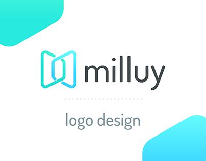 milluy - Logo design