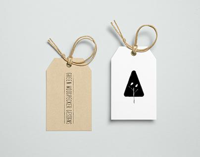 Green Woodpecker Designs Branding & Identity project