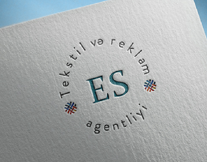 Textile and advertising agency (Logo branding)