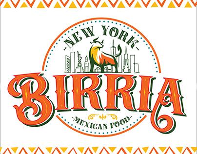 New York Birria Branding & Food Truck Design