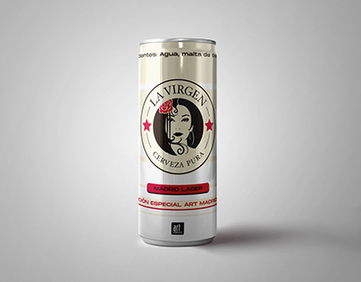 LA VIRGEN - Special edition beer packaging design