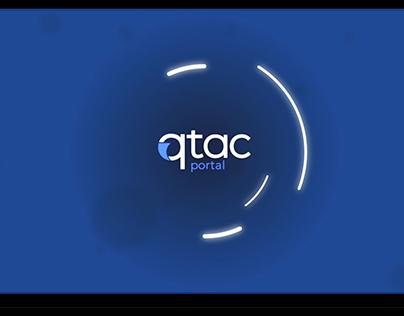 qtac payroll portal motion graphics video