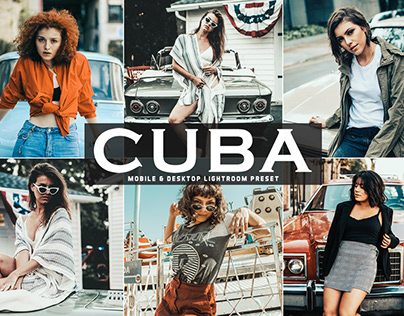 Free Cuba Mobile & Desktop Lightroom Preset