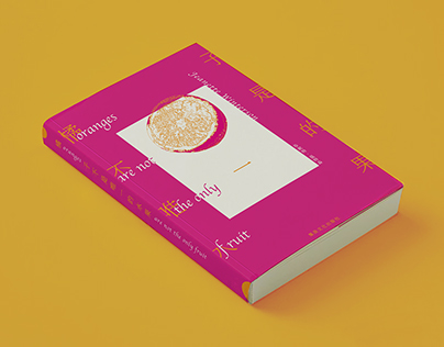 cover design, oranges are not the only fruit,橘子不是唯一的水果