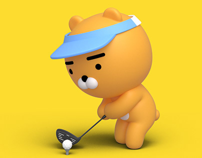 Kakao Friends Screen Golf