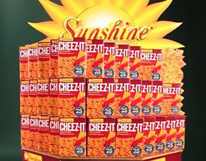 Cheez-It Retail Display