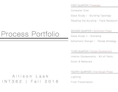 Studio III: Process Portfolio