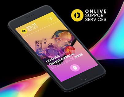 Onlive Support Services - Website