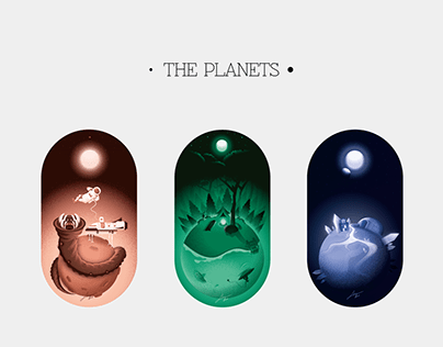 The Planets - Illustrations