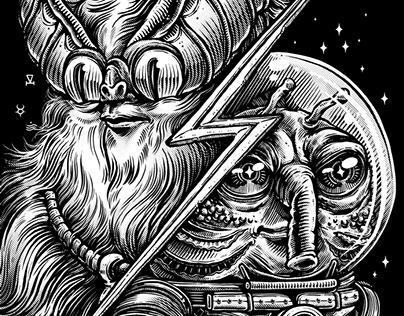 Illustration: Fan Art for Buzztro & Jarvis