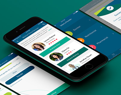 TEVA Medical App Design