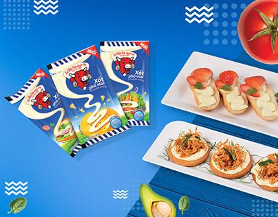 Xốt Phô Mai - Cheese Sauce | Recipe Leaflet