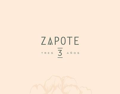 Zapote 3rd Anniversary