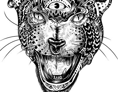Animals Tatoo t-shirt