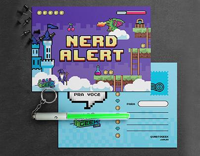 Loja Virtual | Postcard- Quarto Geek (2020)