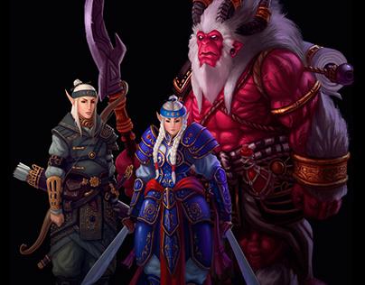 Elfos - Character Concept