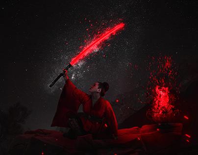 Samurai Red Night