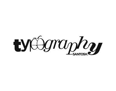 typography - Santosh