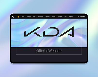 K/DA Website Redesign