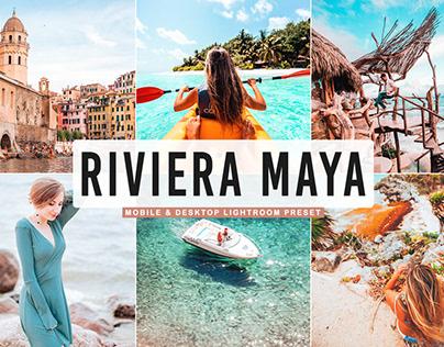 Free Riviera Maya Mobile & Desktop Lightroom Preset
