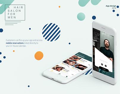 Barbershop mobile application