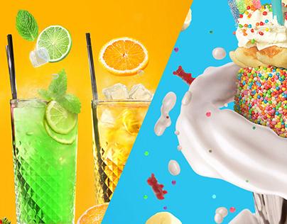 Refreshing drinks | Overshake