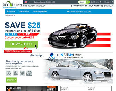 Re-Imagine vehicle fitment engine for TireBuyer.com