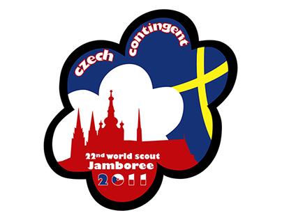 Světové skautské Jamboree - Logo českého kontingentu