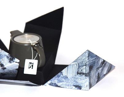Iś -Icelandic luxury teapot packaging