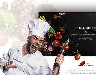 Steak House - Responsive Restaurant & Cafe Wordpress