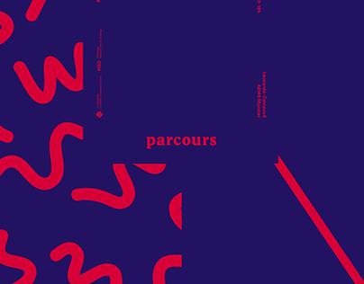 Parcours – exhibition design