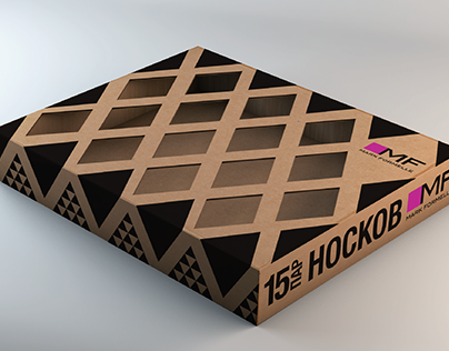 Concepts of packaging for socks