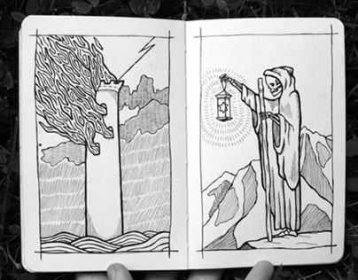 Moleskine Sketchbook // Spring 2016