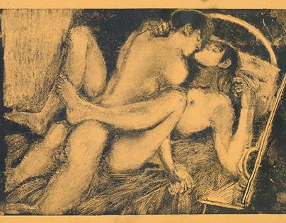 monotype 6, 21x30