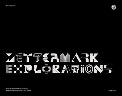 Lettermark Explorations Experiment