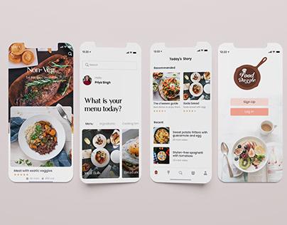UI DESIGN (Food App)