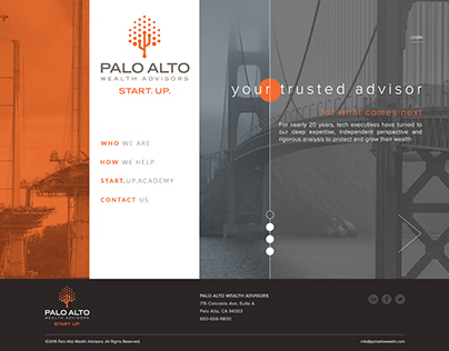 Palo Alto Wealth Advisors Website