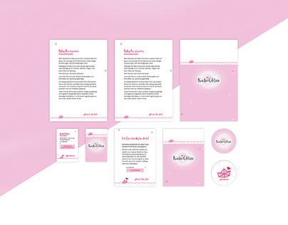 Handmade-Lable - Küstenglitzer | Corporate Design