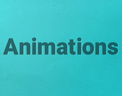 Animaitons | After effects