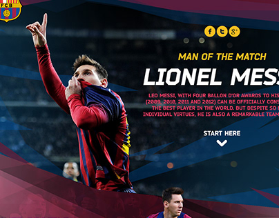 Barcelona/Nike - Lionel Messi - Man of the match