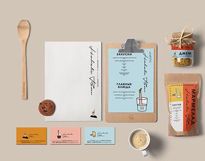 Branding of a cafe & bar