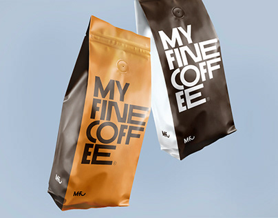 My fine coffee. Дизайн упаковки кофе