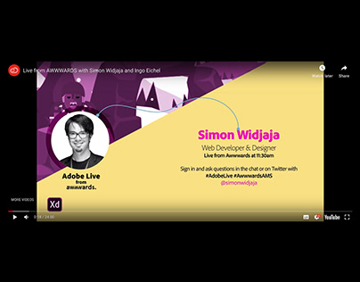 Live from AWWWARDS with Simon Widjaja and Ingo Eichel