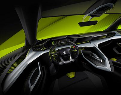 Peugeot Concept interior