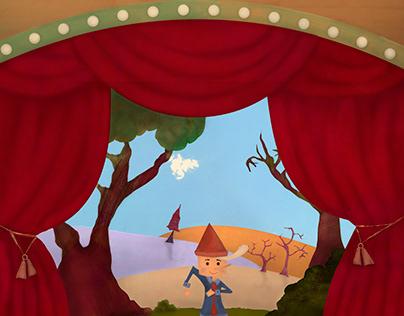 """Livre illustré pour enfants """"Pinocchio"""""""