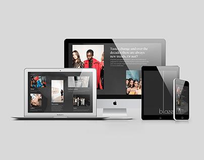 Blazer - Online magazine